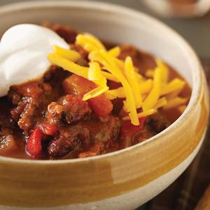 Cajun Slow Cooker Chili