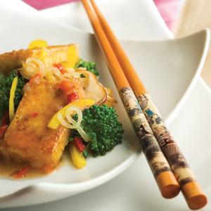 Hot and Sour Tofu Stir Fry