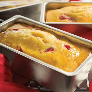 Elinor Klivans Glazed Lemon Cranberry Mini Tea Breads