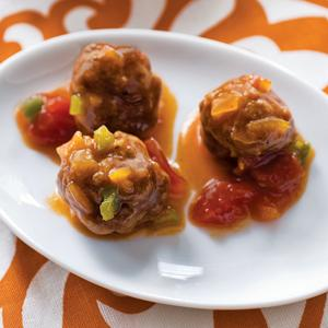 Slow Cooker Sweet n Sour Meatballs