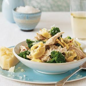 Tortellini with Chicken and Broccoli