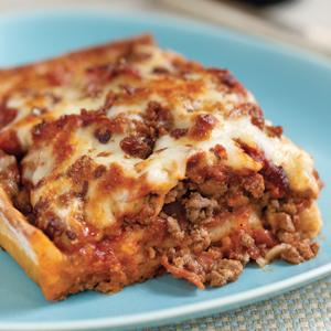 Meat Lover's Deep Dish Pizza