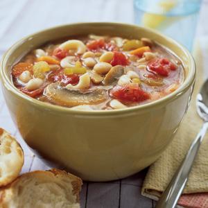 Bean and Macaroni Soup