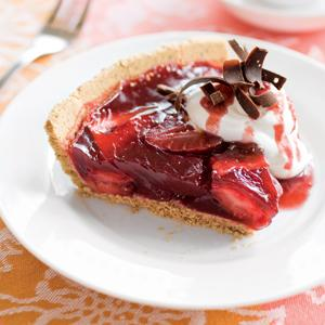 Strawberry Wine Pie