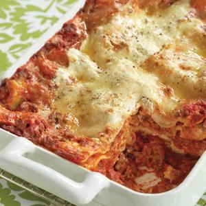 Lean Mean Meaty Lasagna