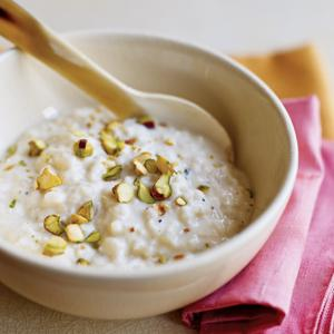 Cardamom and Pistachio Kheer