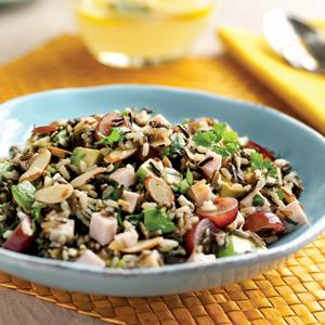 Wild Rice and Smoked Turkey Salad
