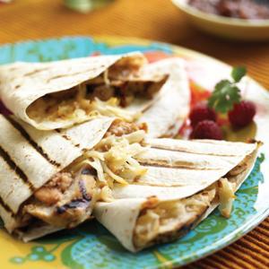 Grilled Chicken Quesadillas