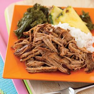 Kalua Pork with Hawaiian Barbecue Sauce