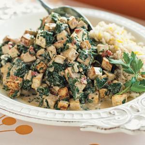 Tofu Saag Paneer