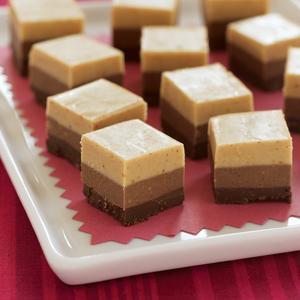 Triple Chocolate Peanut Butter Truffles