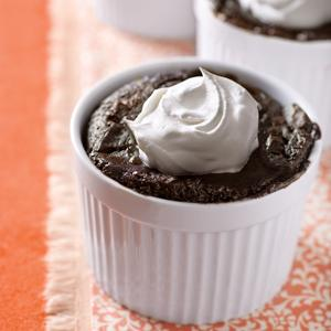 Mocha Brownie Pudding Cake