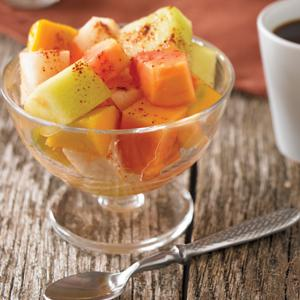 Fruit Salad with Chili Salt
