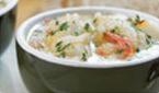 Shrimp and Cod Chowder