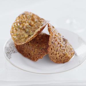 Pistachio Lace Crisps