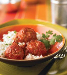 Albondigas in Spicy Tomato Sauce