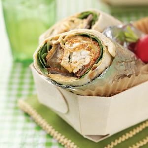 Greek Eggplant Wraps