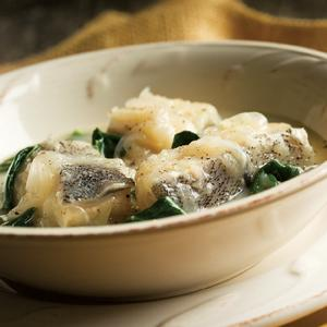 Spinach Haddock Laing