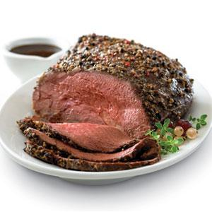 Herbed Beef Tenderloin with Holiday Rice
