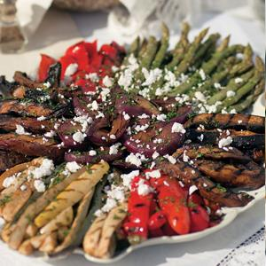 Balsamic Grilled Vegetables