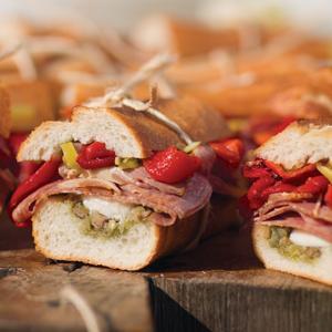 Italian Antipasto Sandwiches