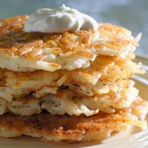 Sweet Potato & Pear Latkes