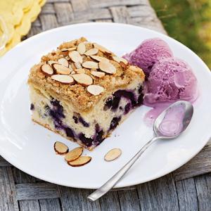 Blueberry Almond Buckle