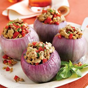 Savory Stuffed Onions