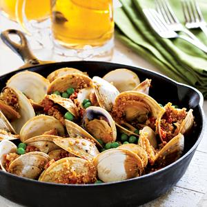 Quinoa with Sofrito and Clams