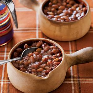 Vegetarian Maple Baked Beans