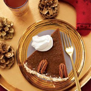 Sweet Potato Bourbon Pecan Pie