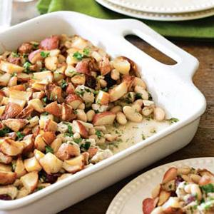 Turkey and White Bean Gratin