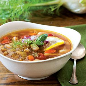 Fennel Minestrone