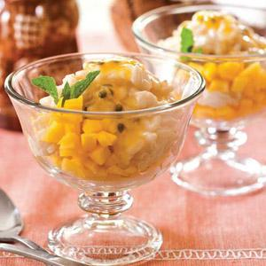 Tropical Rice PuddIng Parfait