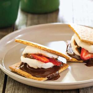 Dressed-Up Oven S'mores
