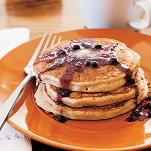 Brown Sugar and Cinnamon Kefir Pancakes