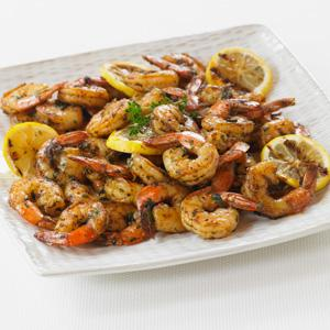 Grilled Shrimp with Fresh Herbs