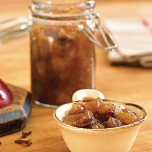 Indian-Spiced Apple Chutney