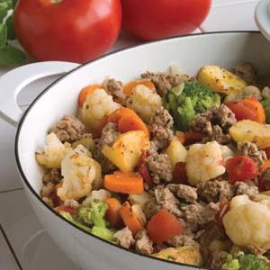 Quick Turkey Skillet Supper
