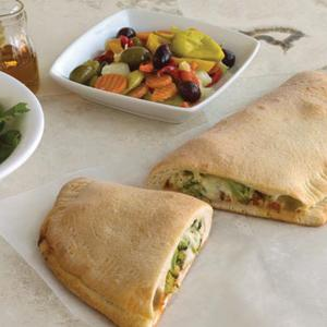 Easy Calzone with Vegetables