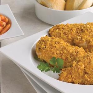 Cornflake Chicken with Vegetables