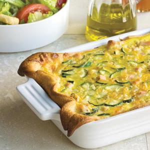 Zucchini & Turkey Casserole