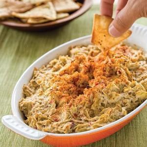 Artichoke and Red Pepper Dip