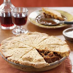 Beef Goulash and Biscuit Potpie