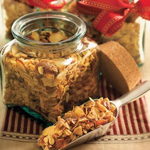 Kimberly Mayone`s Coconut Almond Granola