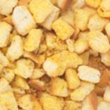 Homemade Cheese and Herb Croutons