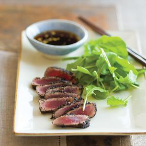 Seared Tea Rubbed Tuna