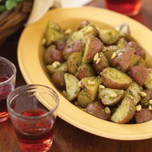 Underwood Farm Pesto with Potatoes