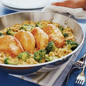 Chicken Rice and Broccoli