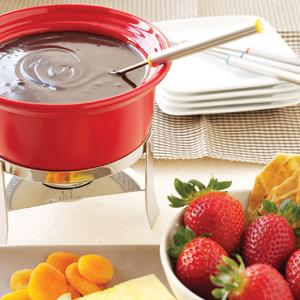 Tailored Chocolate Fondue